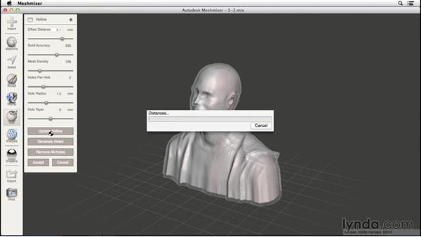 Sizing and exporting your model: 3D Scanning a Person