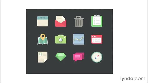 Exploring the principles of icon design: Creating Icons with Photoshop
