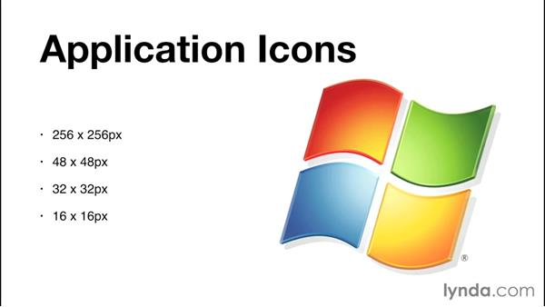 Understanding platform guidelines for icons: Creating Icons with Photoshop