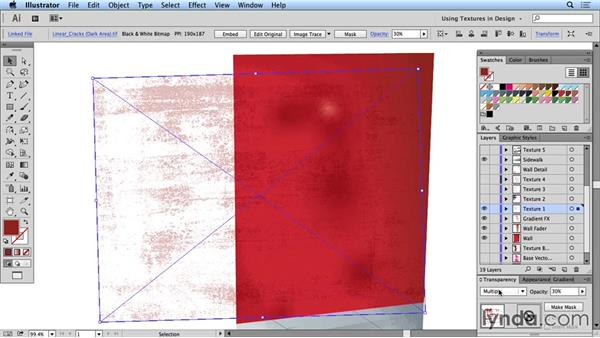 Experimenting with textures: Creating and Using Textures for Design