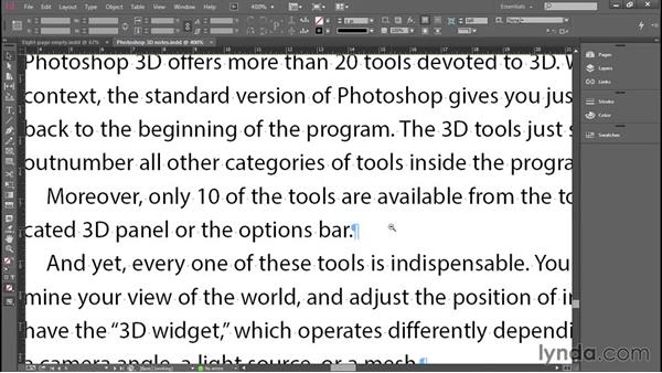 Using the Zoom and Hand tools: Introducing InDesign