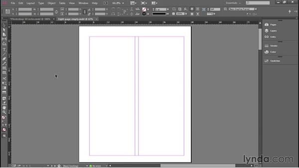 Setting ruler and column guides: Introducing InDesign