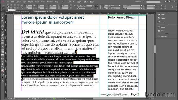 Alignment, indents, and below spacing: Introducing InDesign