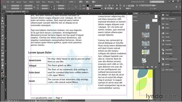 Adding, deleting, and moving pages: Introducing InDesign