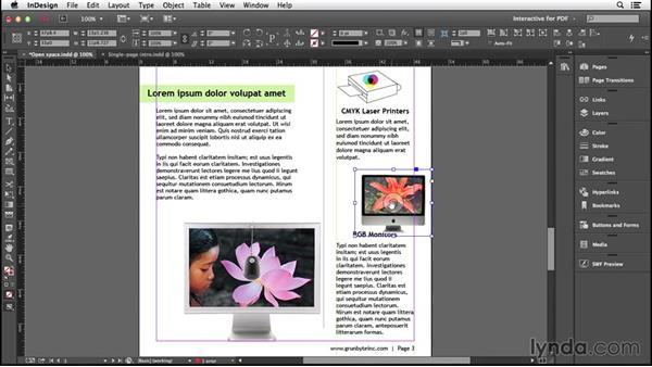Placing artwork: Introducing InDesign