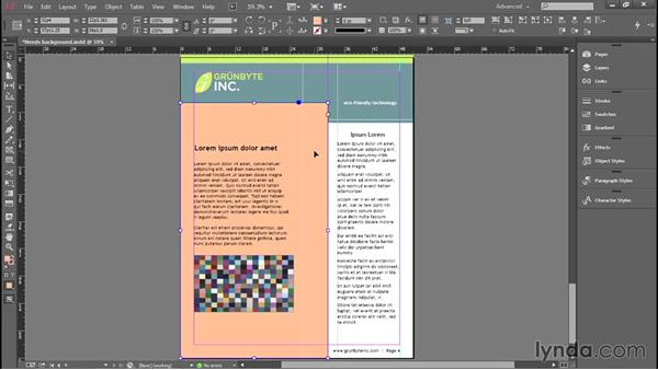 Stacking and layering objects: Introducing InDesign