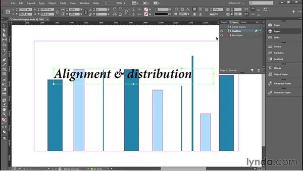 Alignment and distribution: Introducing InDesign