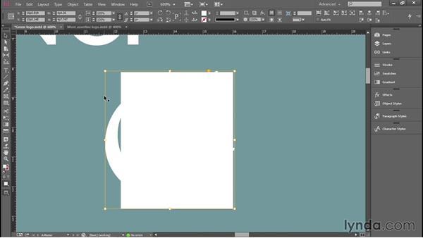 Creating a quick logo: Introducing InDesign
