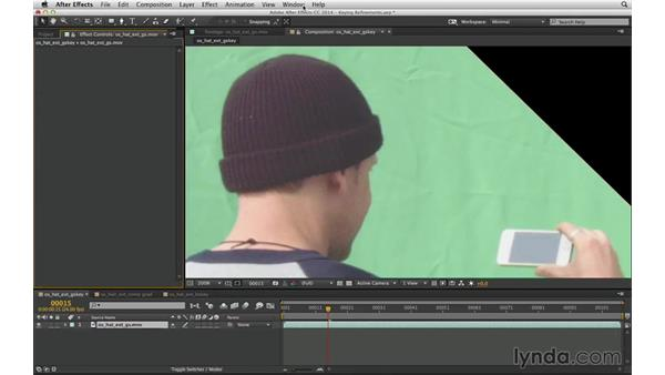Use the Adobe workflow: Keylight, Key Cleaner, and Advanced Spill Suppressor: After Effects Compositing 04: Color Keying