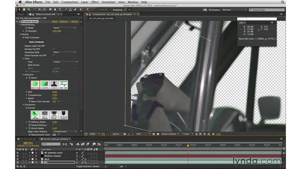 Get started with Primatte Keyer: After Effects Compositing 04: Color Keying