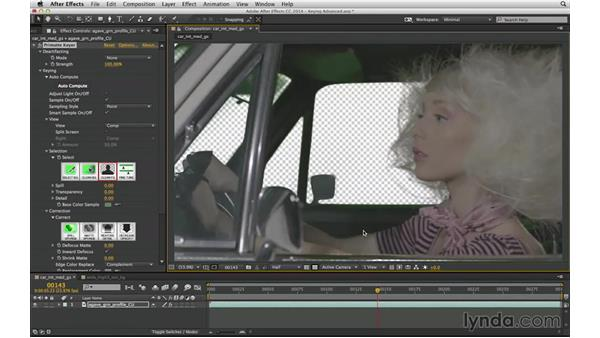 Understand Primatte as a Keylight alternative: After Effects Compositing 04: Color Keying