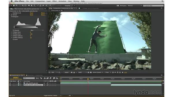 Know reasons green screen is not always the answer: After Effects Compositing 04: Color Keying