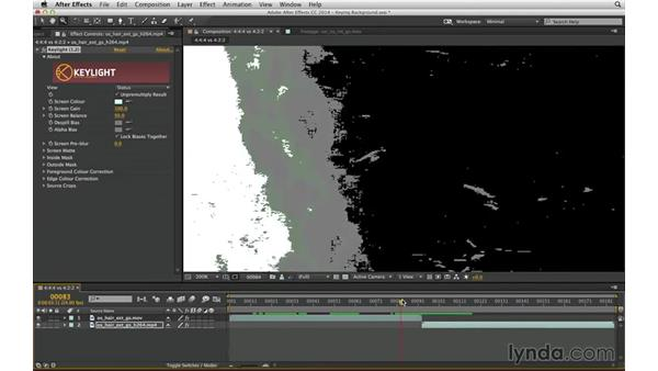 Avoid compression: The enemy of mattes: After Effects Compositing 04: Color Keying