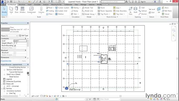 Configuring other layered hosts: Creating Revit Templates: System Settings