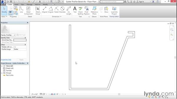 Loading and building profiles: Creating Revit Templates: System Settings
