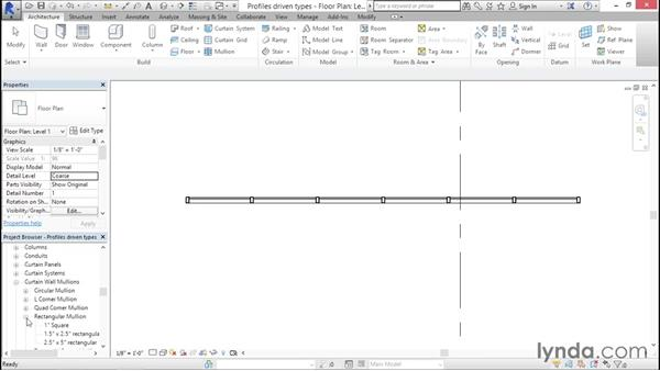 Managing profile-driven types: Creating Revit Templates: System Settings