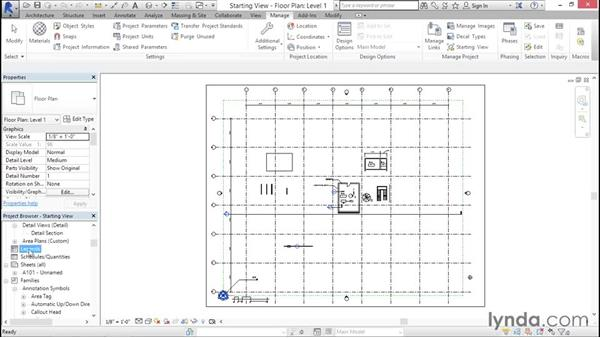 Establishing a starting view: Creating Revit Templates: System Settings