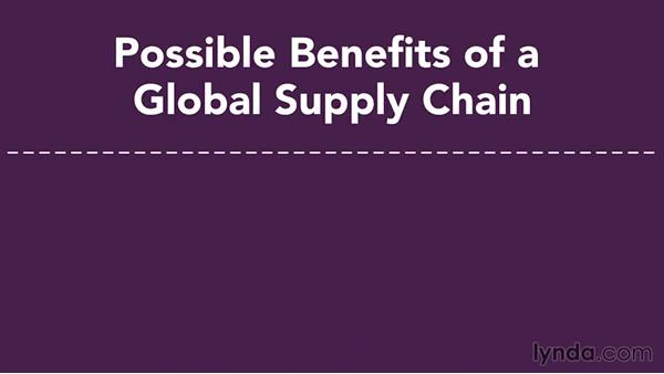 Going global: Supply Chain Management Fundamentals