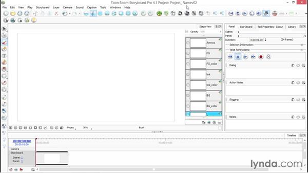 Saving and backing up Storyboard Pro files: Toon Boom Storyboard Pro Essential Training
