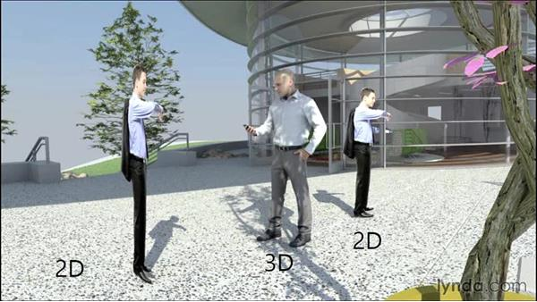 """Strategies for """"entourage"""": Architectural Rendering with Rhino and V-Ray"""