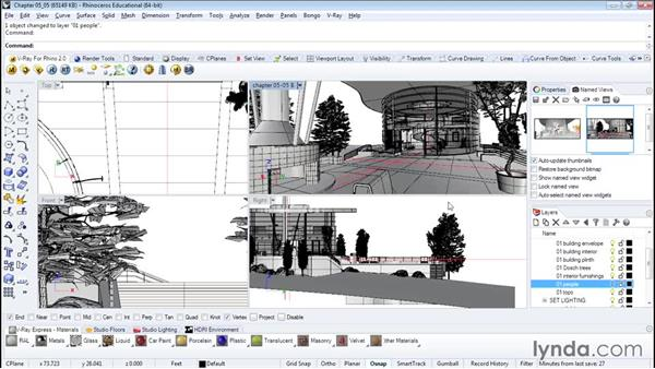 Inserting people for scale and interest: Architectural Rendering with Rhino and V-Ray