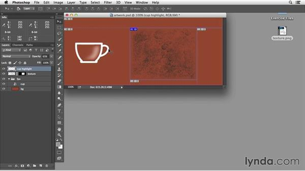 Creating web graphics from Photoshop: Edge Animate Essential Training