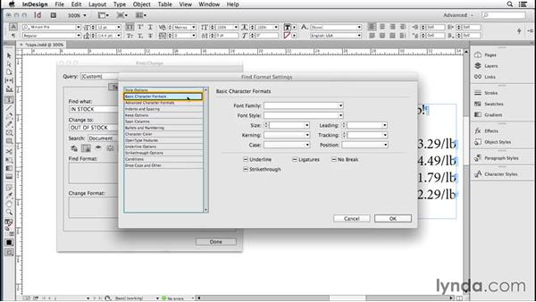 169 All about All Caps (change case open type option): InDesign Secrets