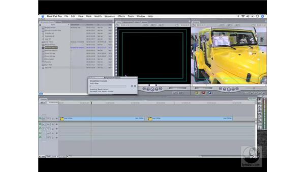 The SmoothCam feature: Final Cut Pro 6 Workflow