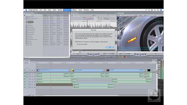 New audio features: Final Cut Pro 6 Workflow