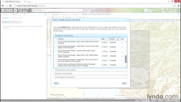 Getting data from the National Map Viewer: Up and Running with InfraWorks