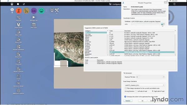Configuring the model: Up and Running with InfraWorks