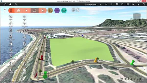 Creating coverages: Up and Running with InfraWorks
