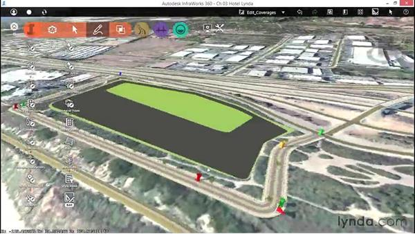 Editing coverages: Up and Running with InfraWorks