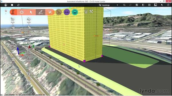 Creating and editing buildings: Up and Running with InfraWorks