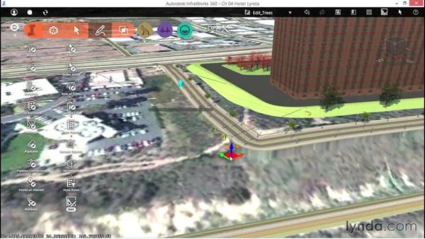 Editing trees: Up and Running with InfraWorks