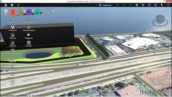 Looking at 3D Graphics settings: Up and Running with InfraWorks