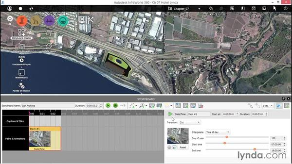 Analyzing light and shadow: Up and Running with InfraWorks
