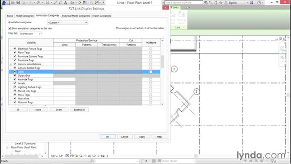 Managing links: Creating Revit Templates: Views and Sheets