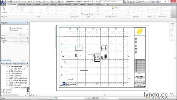 Organizing your sheets: Creating Revit Templates: Views and Sheets