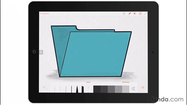 Using the exercise files: Drawing on the iPad with Adobe Illustrator Line