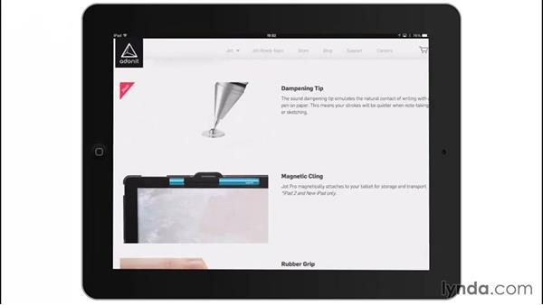 Choosing a stylus: Drawing on the iPad with Adobe Illustrator Line