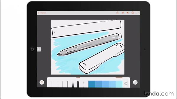 Adobe's own hardware: Drawing on the iPad with Adobe Illustrator Line
