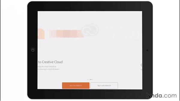 Signing in to Line: Drawing on the iPad with Adobe Illustrator Line