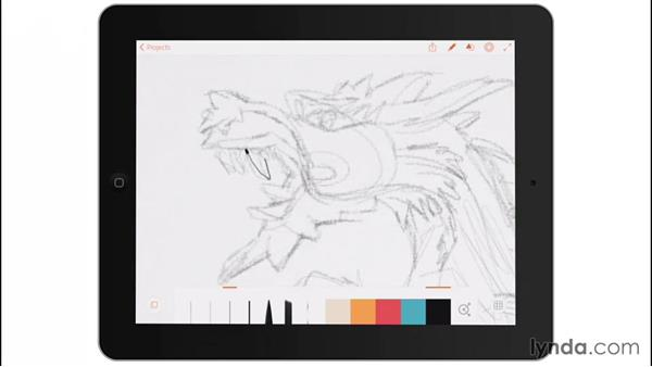 Fine liners: Drawing on the iPad with Adobe Illustrator Line