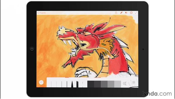 Line's hidden options: Drawing on the iPad with Adobe Illustrator Line