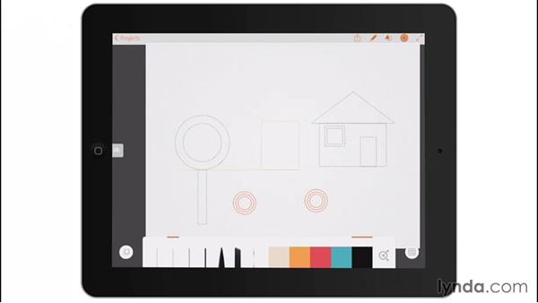 Shapes: Drawing on the iPad with Adobe Illustrator Line