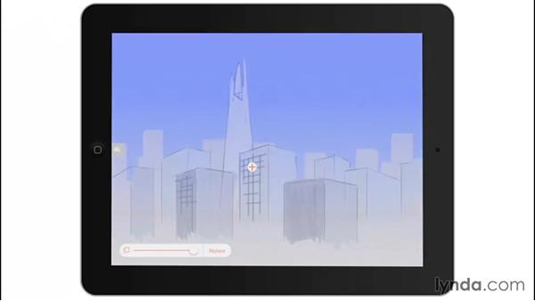 Using a background image: Drawing on the iPad with Adobe Illustrator Line