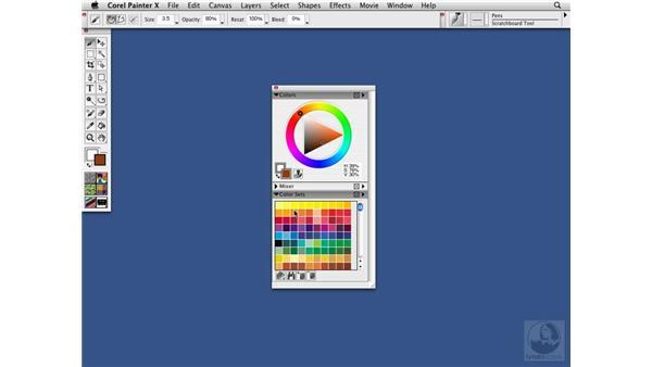 Color sets: Choose 'n' use color: Painter X Essential Training