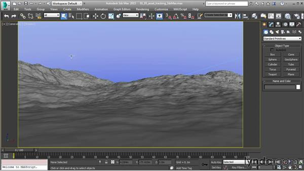 Asset tracking in 3ds Max: 3ds Max and Maya Integration