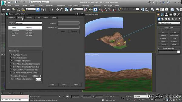 Adopting Maya mode in 3ds Max